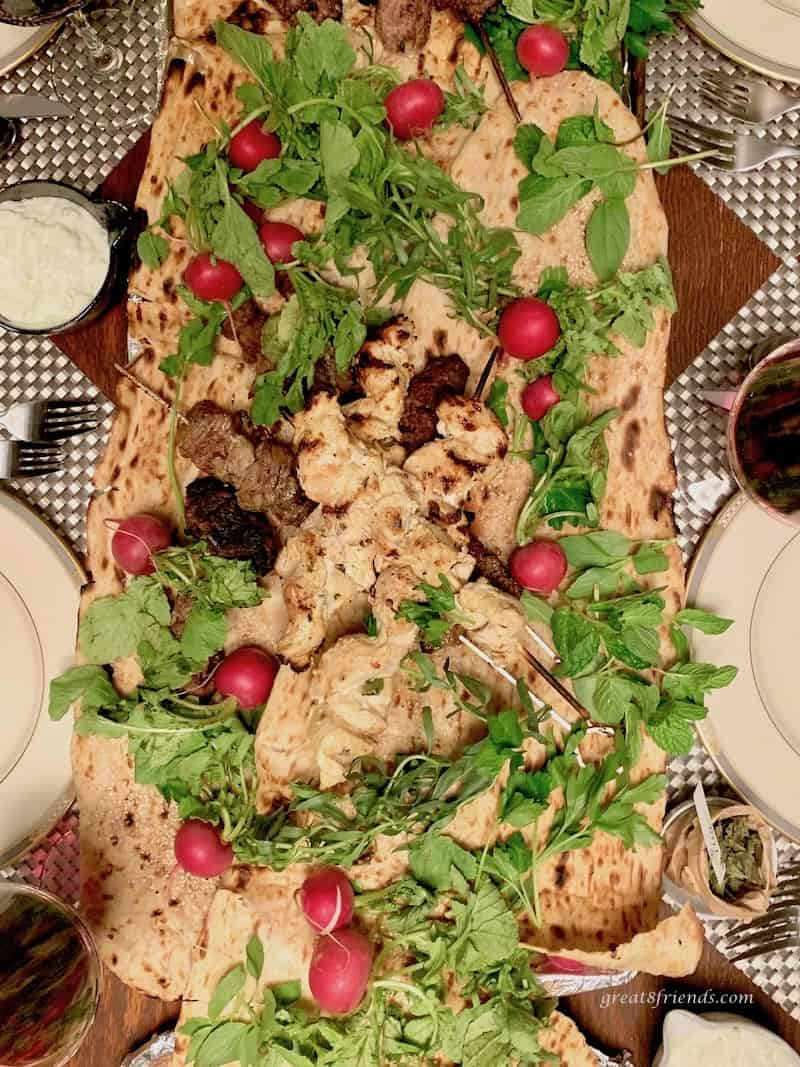 Middle Eastern Lemon Yogurt Chicken Skewers