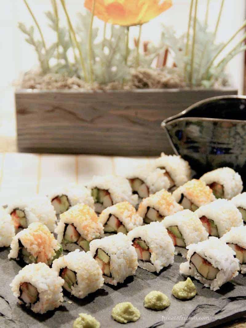 homemade California roll